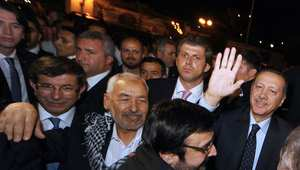 """الغنوشي يصف انتصار العدالة والتنمية التركي بـ""""فوز الربيع العربي"""".. ويتجاهل تصريحات الظواهري"""