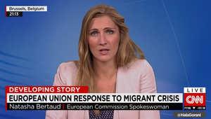 المتحدثة باسم المفوضية الأوروبية لـCNN: احتمال تقديم مخطط يجبر الدول الأعضاء إذا تم تبنيه باستقبال عدد معين من اللاجئين