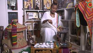 شاهد.. كيف تحضّر القهوة على الطريقة القديمة في أثيوبيا؟