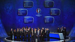 """قرعة تاريخية لـ""""يورو 2016"""" بمشاركة 24 منتخباً لأول مرة"""