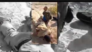 صورة من فيديو لعملية إعدام في العراق