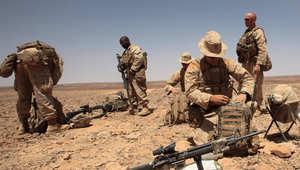 من تدريبات عسكرية أمريكية أردنية سابقة