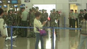 بالفيديو: انفجار في مطار شنغهاي وإصابة 4 أشخاص.. ومنفذ العملية ينحر نفسه