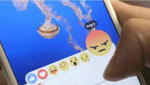 """بينها الضاحك والباكي والعاشق.. """"فيسبوك"""" يبدأ تقديم تعبيرات الوجه مع زر الإعجاب للمستخدمين"""