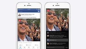 فيسبوك يسمح للمشاهير بالبث المباشر لآخر أخبارهم على صفحات متابعيهم