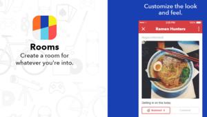 """شركة فيسبوك تعلن عن تطبيق """"Rooms"""" للتحدث باسم مستعار"""