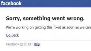 عطل خاطف في خدمة فيسبوك يربك العالم