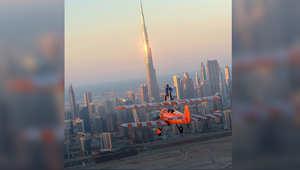 وعلّق الشيخ حمدان على الصور التي نشرها على حسابه على انستغرام قائلاً: صباح الخير دبي