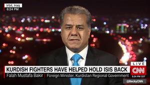 لماذا لن يدخل البشمرغة الموصل؟ وزير كردستاني يجيب لـCNN