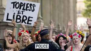 احتجاجات فيمن