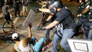 المواجهات متواصلة بين قوات الأمن والمحتجين