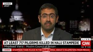 حادثة منى.. عضو المجلس الإسلامي البريطاني لـCNN: من الواضح أن خطأ ما حصل هذا العام بالحج.. التنظيم في السنوات الماضية كان بغاية الدقة