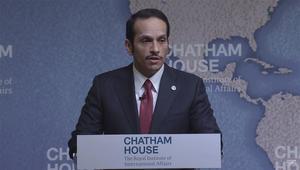 """وزير خارجية قطر: دول """"الحصار"""" تدعو لتغيير النظام.. وطلب منا اتباع السعودية والإمارات بالسياسة الخارجية"""