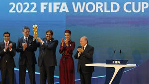 """بالفيديو.. سمير زاهر: استحالة يُقام كأس العالم في قطر.. ويكرر: قطر دي قد نادي """"هليوبليس"""""""