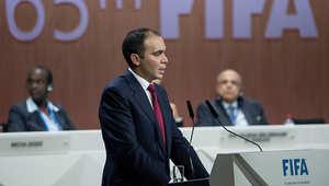 الاتحاد المصري يجدد قراره بدعم الأمير لرئاسة لفيفا