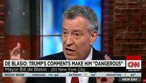 ردا على ترامب.. عمدة نيويورك: تصريحاته لا تجعلنا أقوي بل تخدم داعش.. وكامرون: ما قاله خاطئ