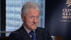 بيل كلينتون لـCNN: ترامب سيكون المرشح الجمهوري بانتخابات 2016 واعتقد أن هيلاري ستكون رئيسة عظيمة لأمريكا