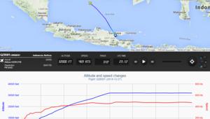 """لغز اختفاء طائرة """"آير آسيا"""": الكابتن طلب الارتفاع أكثر قبل انقطاع التواصل"""