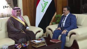 """وزير دفاع العراق يبحث """"دعم الرياض لبغداد"""" مع القائم بالأعمال السعودية"""