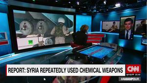 محلل لـCNN: صور لقناة روسية كشفت نوع الذخيرة المستخدمة بسوريا