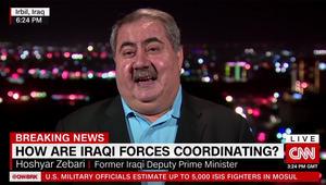 معركة الموصل.. زيباري لـCNN: ما رأيناه اليوم كان مذهلا