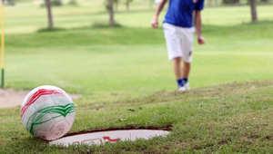 """رياضة جديدة.. """"الفوتغولف""""..""""الغولف بالقدم"""" أو """"كرة القدم بالغولف"""""""