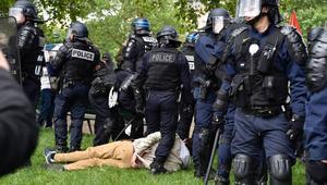 شهدت فرنسا اليوم الخميس تظاهر مئات آلاف العمال ضد تعديل قانون الشغل
