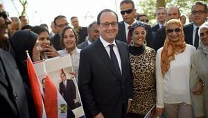 خلصت زيارة الرئيس الفرنسي فرانسوا أولاند لمصر خلال اليومين الماضيين رفقة