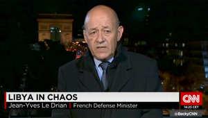 وزير الدفاع الفرنسي لـCNN: ثوار سوريا بين داعش ونظام ديكتاتوري.. وعلى الليبيين تقرير من يمثلهم