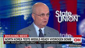 رئيس CIA الأسبق لـCNN: هناك خط أحمر سياسي للصين علينا استغلاله بملف كوريا الشمالية