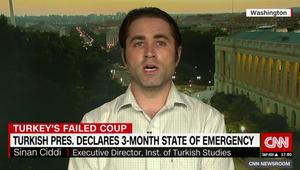 محلل يبين لـCNN ماذا يعني إعلان حالة الطوارئ بتركيا: أردوغان سرّح نحو 60 ألفا قبل ذلك.. فماذا تعتقدون الآن؟