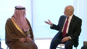 """الجعفري: الجبير كشف نيه السعودية """"شطب ديون العراق"""" وفتح خط طيران من الرياض لبغداد والنجف"""