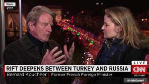 وزير خارجية فرنسا السابق لـCNN: فرنسا وأمريكا وروسيا يتقاتلون حول مصير الأسد