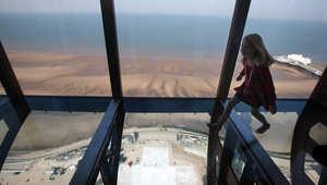 برج Blackpool في بريطانيا
