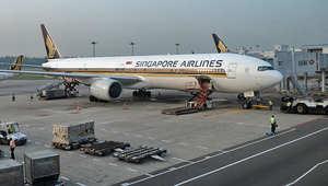 شركة الطيران السنغافوري كانت الطائرة الأولى التي تتسلم طلبية من طائرات A380.