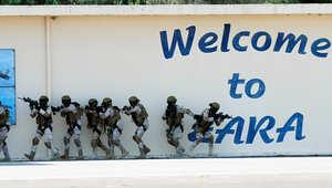 قوات عسكرية سعودية تشارك في تدريب مشترك مع فرنسا.