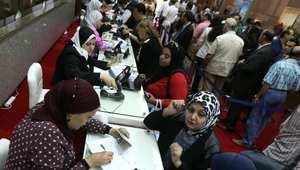 جانب من عمليات التصويت في الإمارات العربية المتحدة.