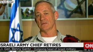 قائد الجيش الإسرائيلي بيوم تقاعده لـCNN: بدأت مهنتي بمرافقة السادات وأغادرها داعيا لقتال داعش ولحياة طبيعية بغزة