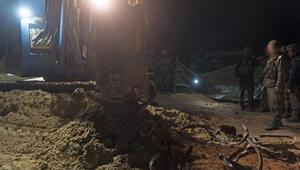 الجيش الإسرائيلي يعلن تدميره لنفق بغزة