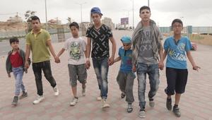 أطفال غزة يصدرون