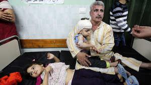 """مأساة في غزة.. انفجار صاروخ من مخلفات """"الجرف الصامد"""" يوقع عشرات الضحايا"""