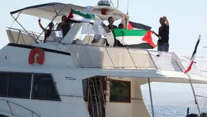 """""""أسطول الحرية 3"""".. """"تخريب متعمد"""" يرجئ انطلاقه إلى غزة"""