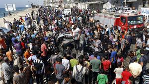 مقتل فلسطينيين في قصف جوي إسرائيلي على غزة
