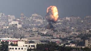 غارة للطيران الإسرائيلي على غزة