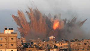 قصف إسرائيلي على جنوب غزة الجمعة