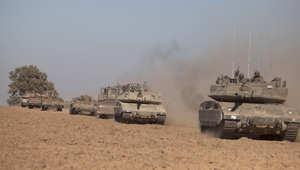 دبابات إسرائيلية تتجه إلى الحدود مع قطاع غزة
