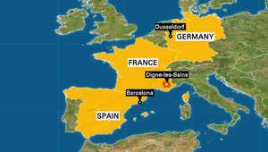 تحطم طائرة ألمانية تقل 150 شخصاً في منطقة جبلية بجنوب فرنسا ولا أنباء عن ناجين