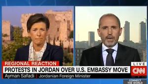 وزير الخارجية الأردني لـCNN: الاحتلال سبب كل شر