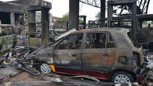 """غانا تعلن """"الحداد الوطني"""" وارتفاع حصيلة ضحايا انفجار أكرا إلى 150 قتيلاً"""