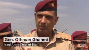 قائد أركان الجيش العراقي يؤكد لـCNN تحرير كامل الموصل قبل رمضان